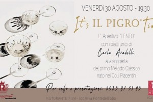 It's Pigro time  - L'aperitivo lento